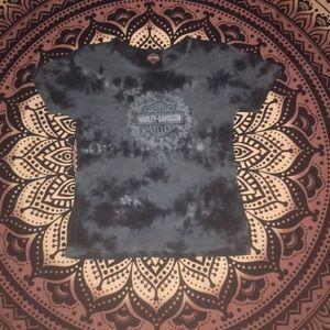 Harley Davidson tie dye shirt